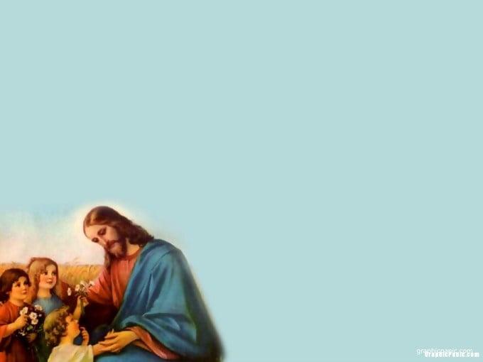 Jesus Loves Me Wallpaper