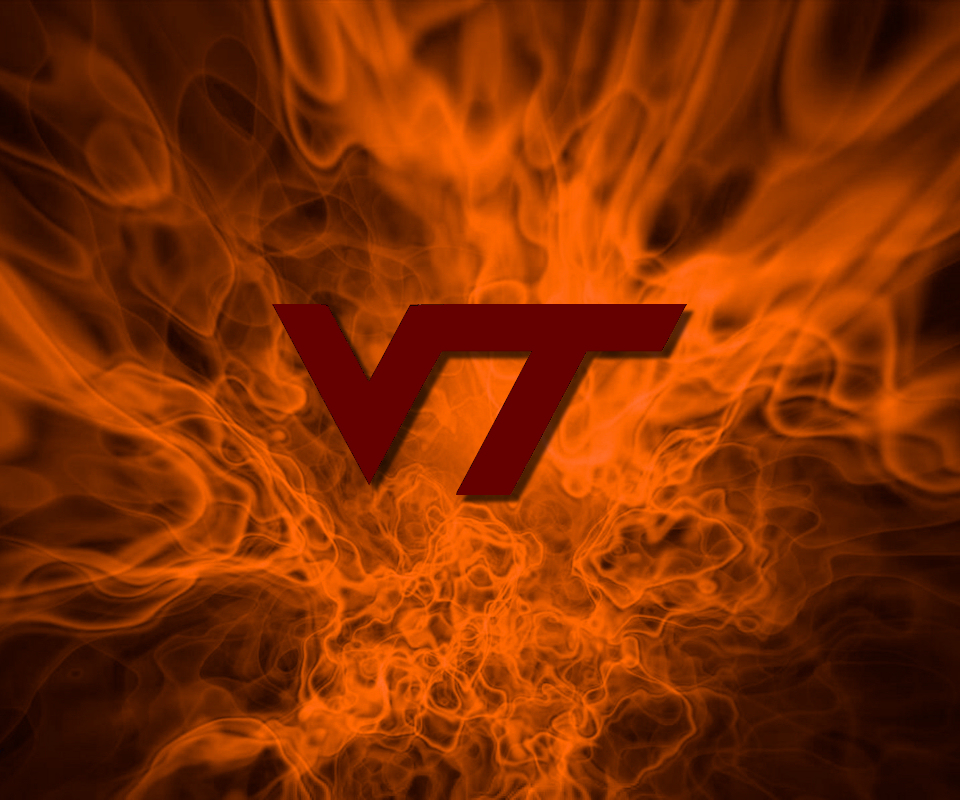 Flames Wallpaper By Fatboy97: [46+] Virginia Tech Hokies Wallpaper On WallpaperSafari