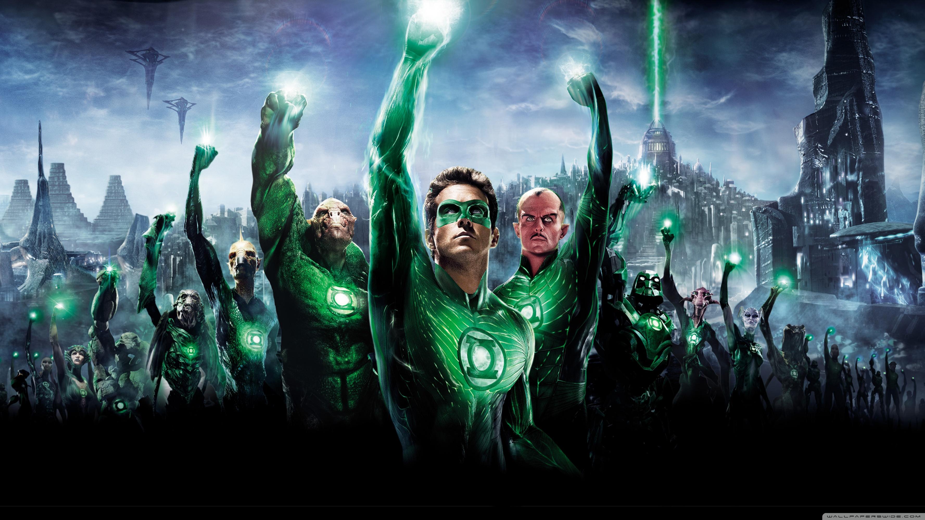Green Lantern Movie 2011 4K HD Desktop Wallpaper for 4K Ultra 3554x1999