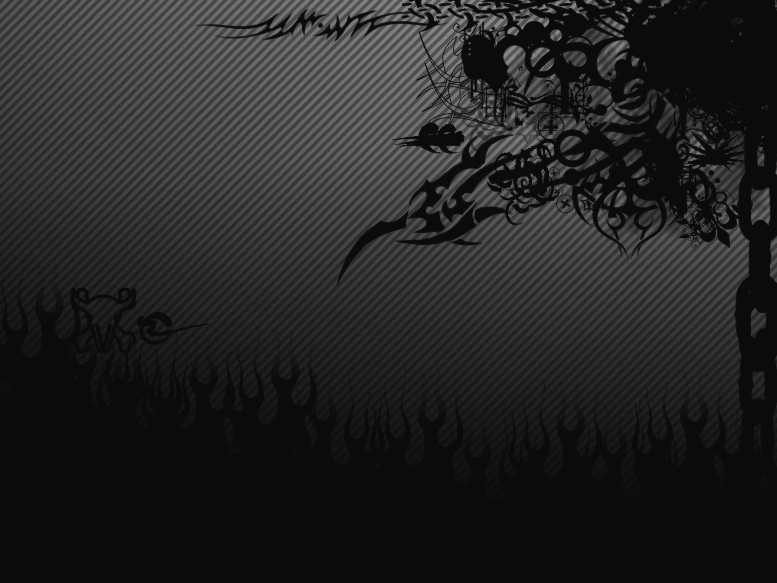 grey black wallpaper by v1n3 customization wallpaper abstract 2008 1600x1200