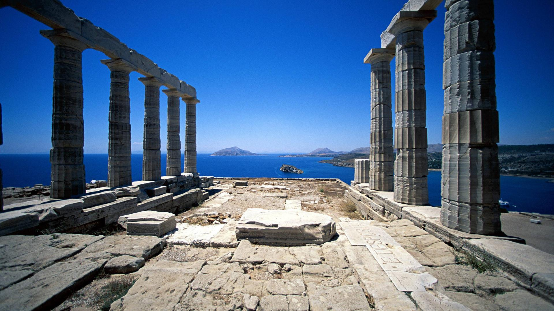 Greek Architecture Wallpapers Best Wallpapers 1920x1080
