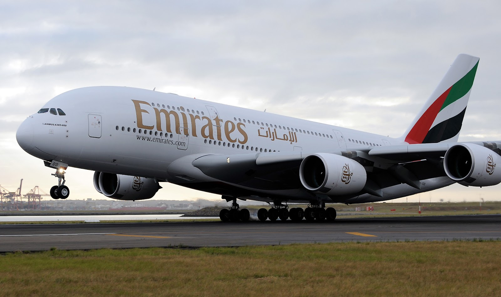Airbus A380 of Emirates Worlds Largest A380 Fleet Airlines 1600x950