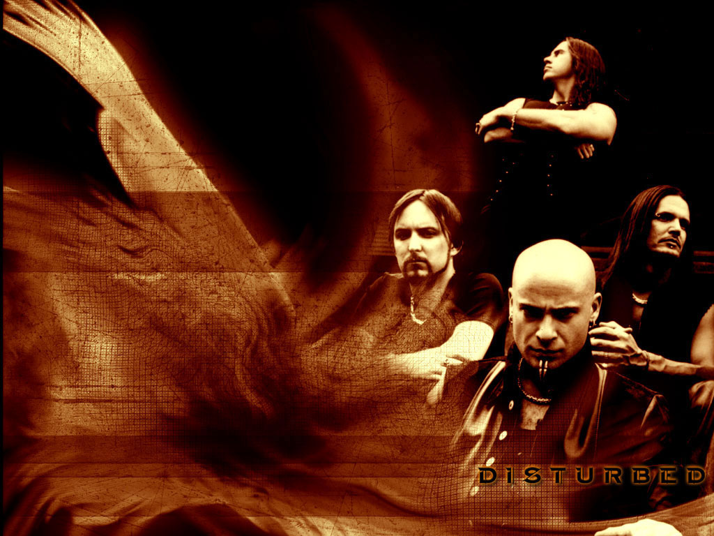 Rock Band Wallpapers Disturbed Metal Wallpaper 1024x768