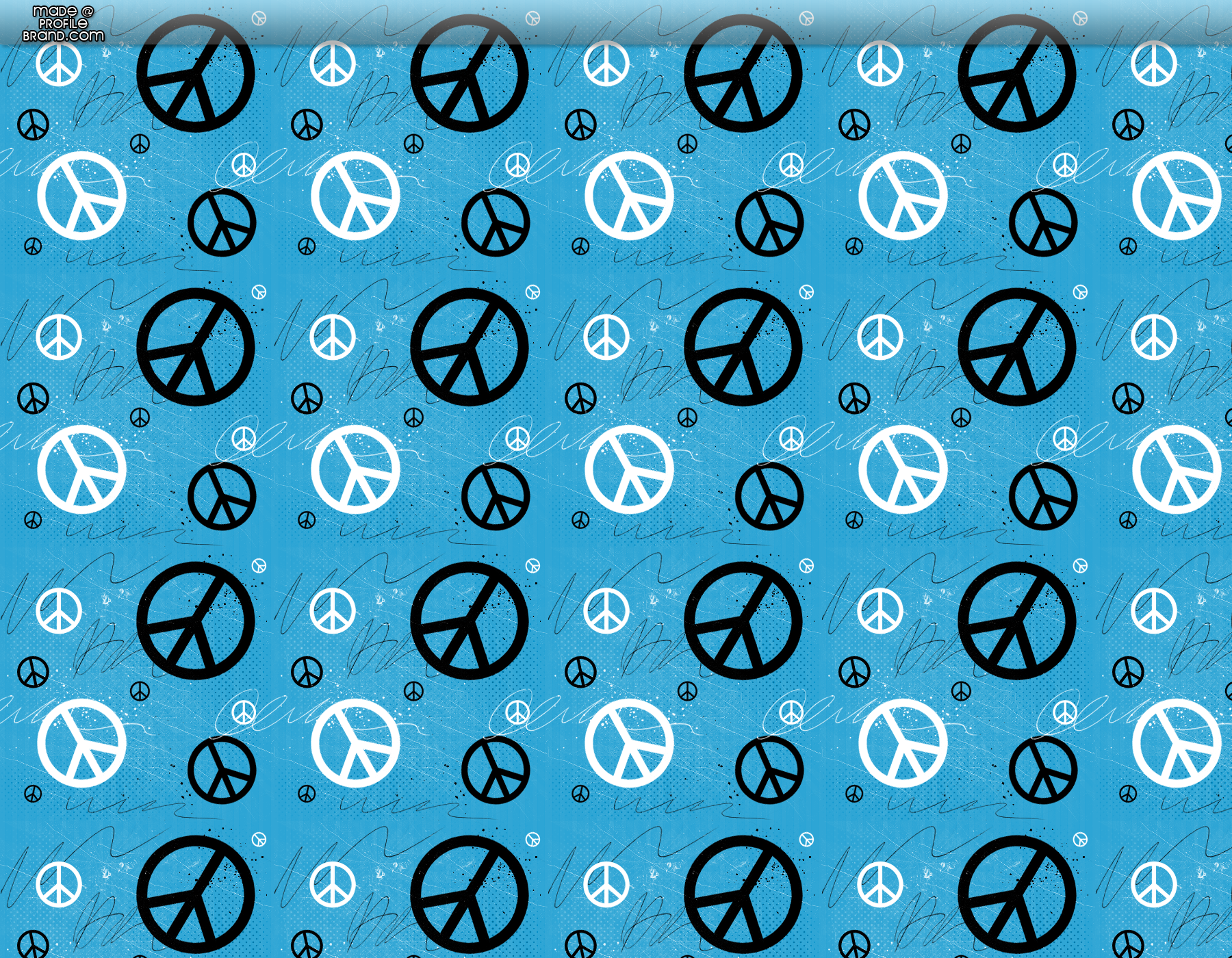Blue Peace Signs Peace Formspring Background 1800x1400