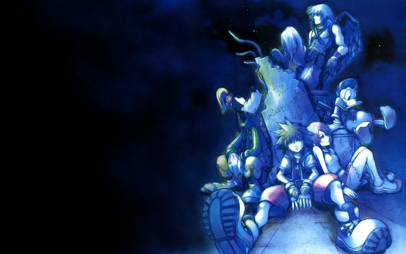 blue kingdom hearts 1280x800 wallpaper Video Games Kingdom Hearts 800x500