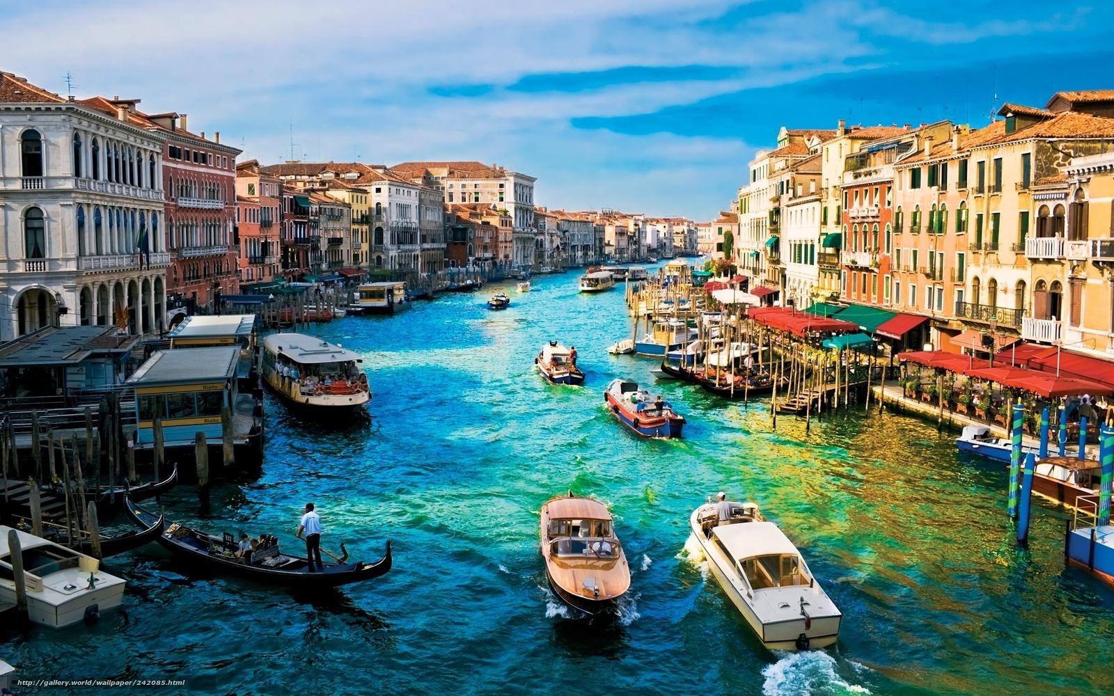 wallpaper Italy Venice channel building desktop wallpaper 1600x1000