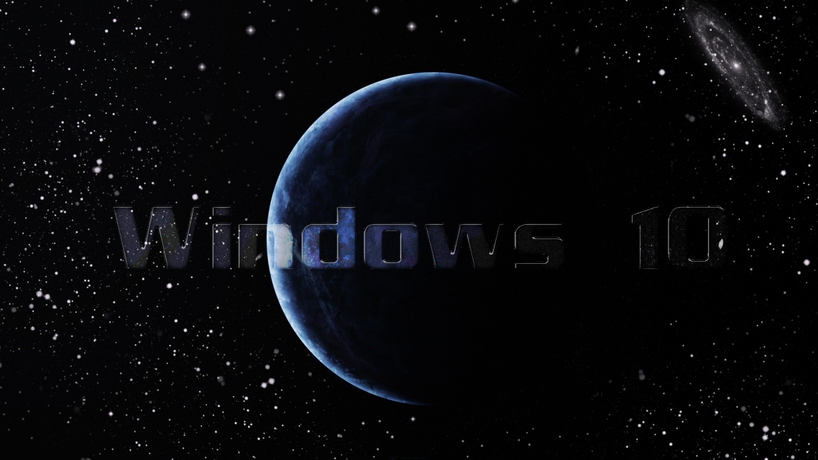 Windows 10 Galaxy wallpaper 1600x900   Wallpaper   Wallpaper Style 1600x900