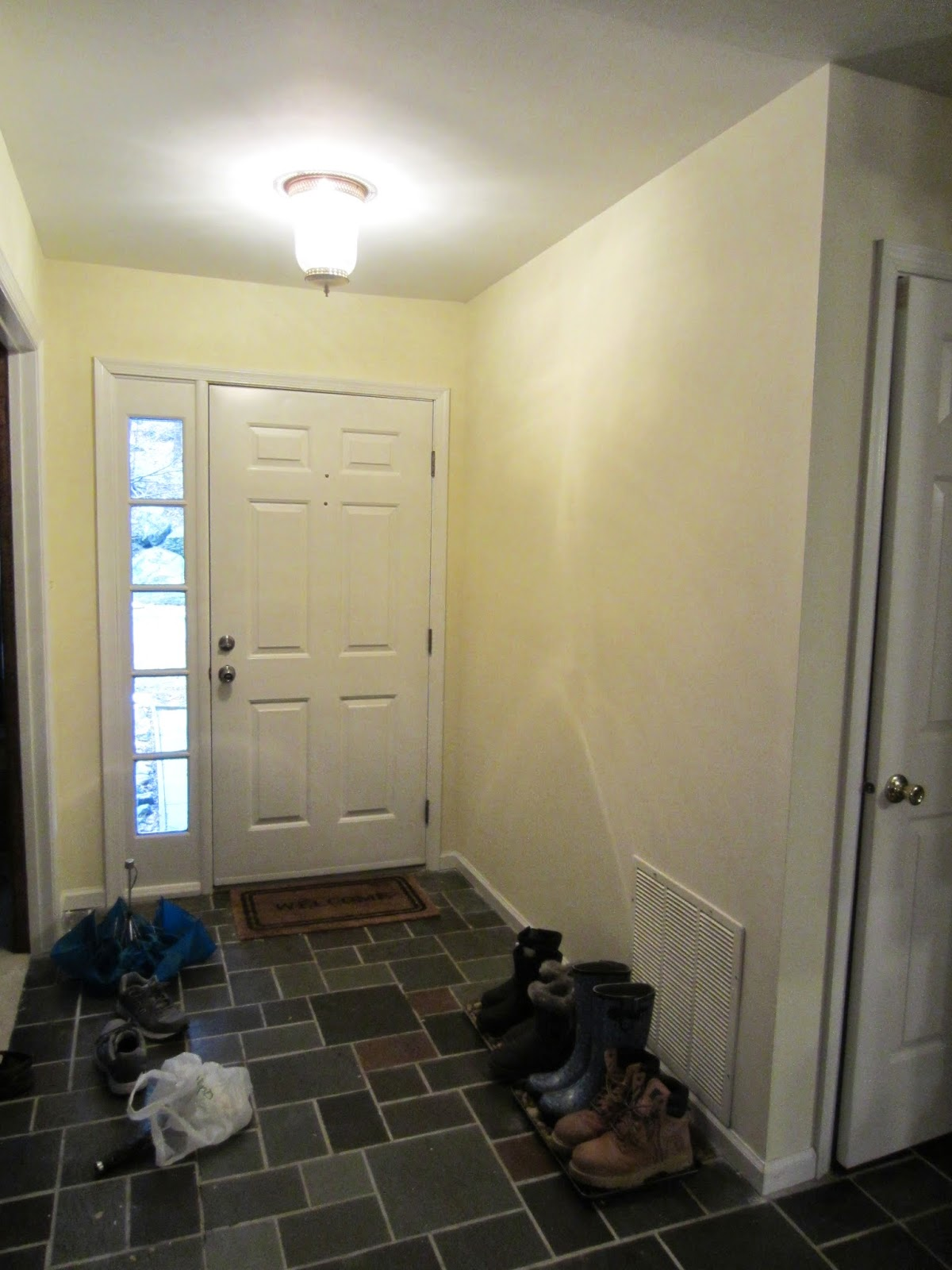 Cook Scrap Craft The Painted Entryway with Sherwin Williams Paint 1200x1600