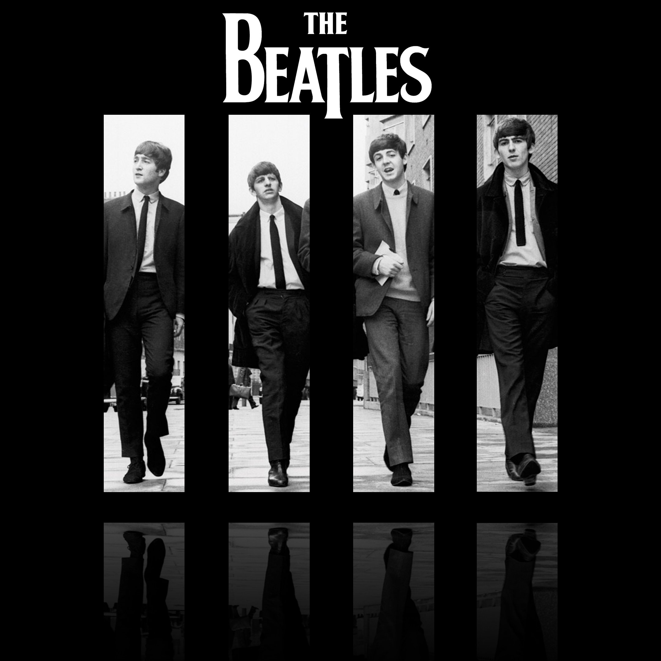 Download The Beatles IPad HD Wallpaper 4819 Full Size 2160x2160