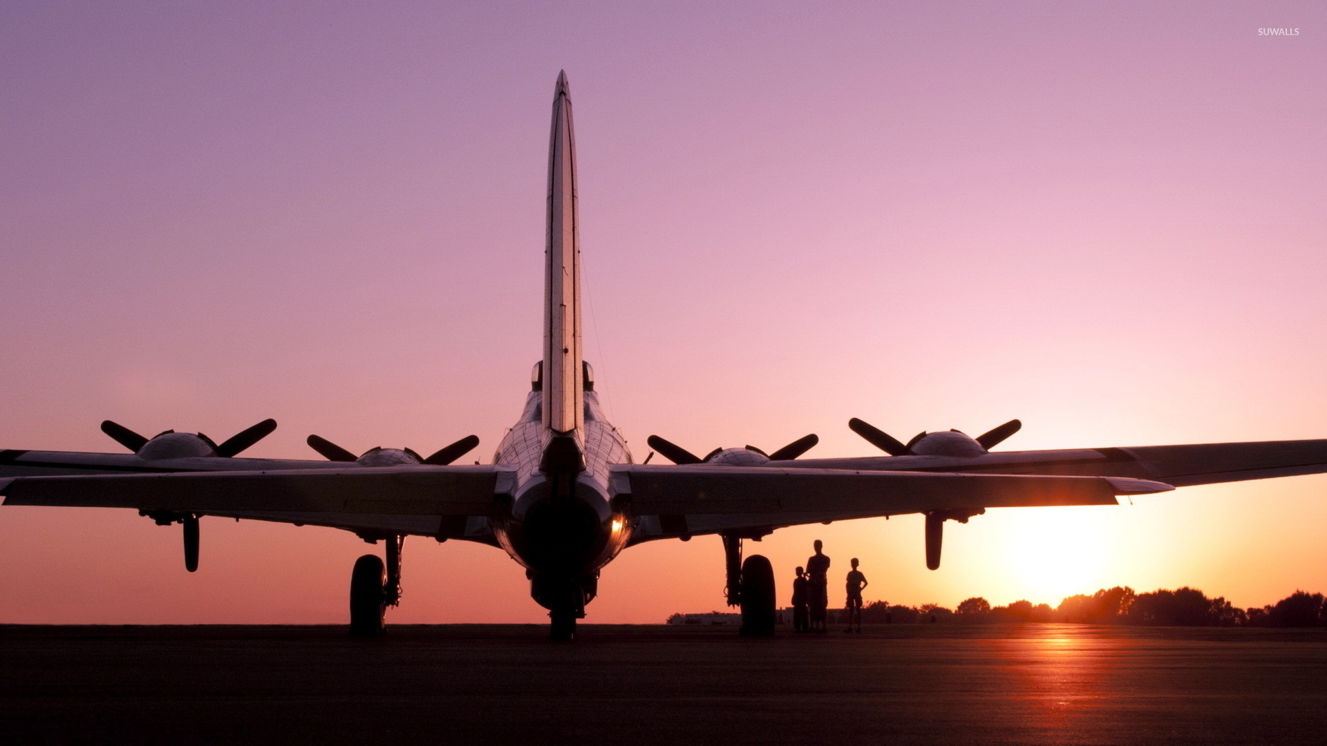 Boeing B 17 Flying Fortress [3] wallpaper   Aircraft wallpapers 1920x1080