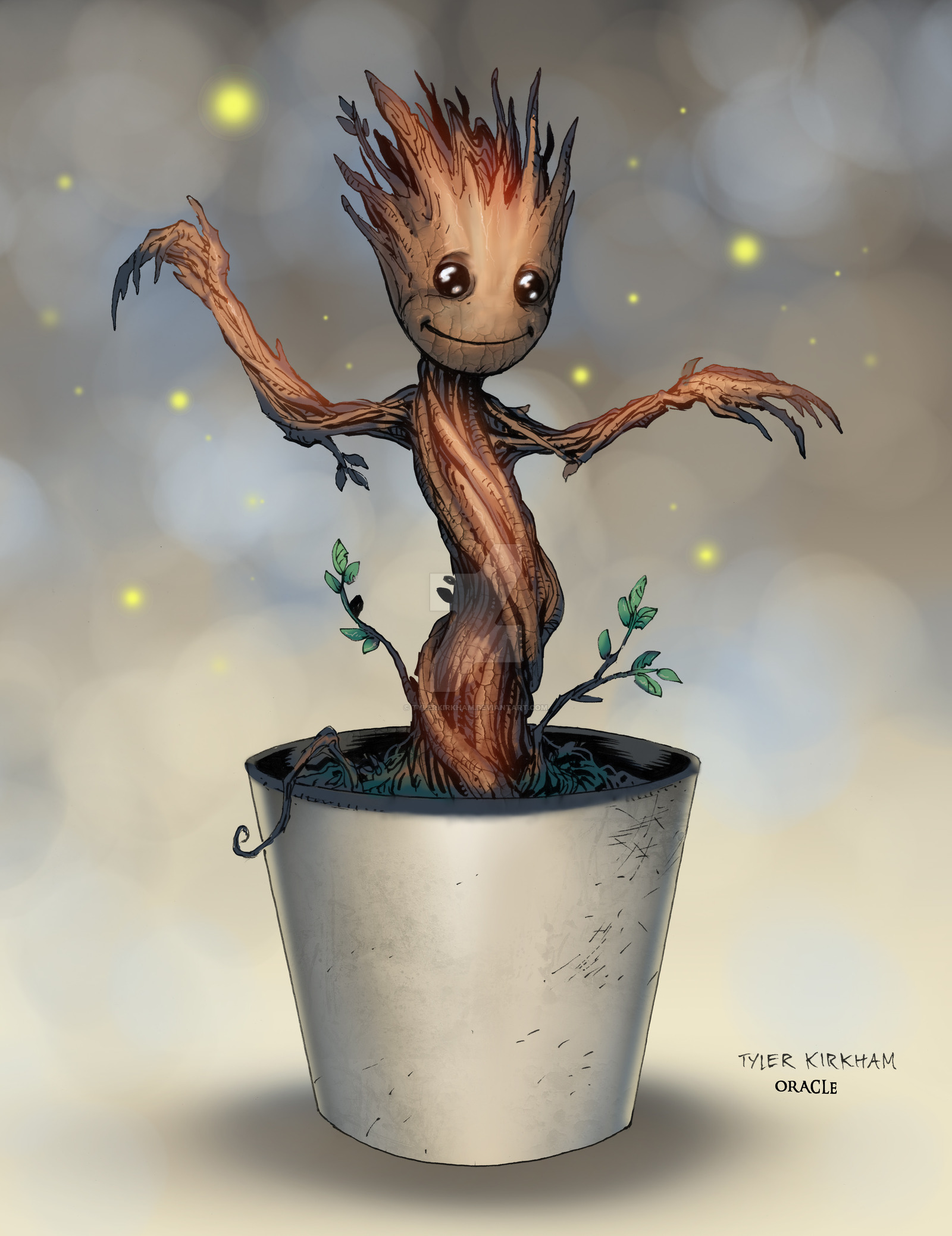 Baby Groot By Tylerkirkham 1600x2076