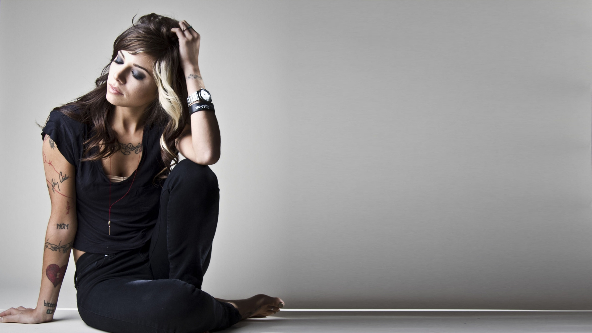 Christina Perri Singer Tattoos Download 1920x1080
