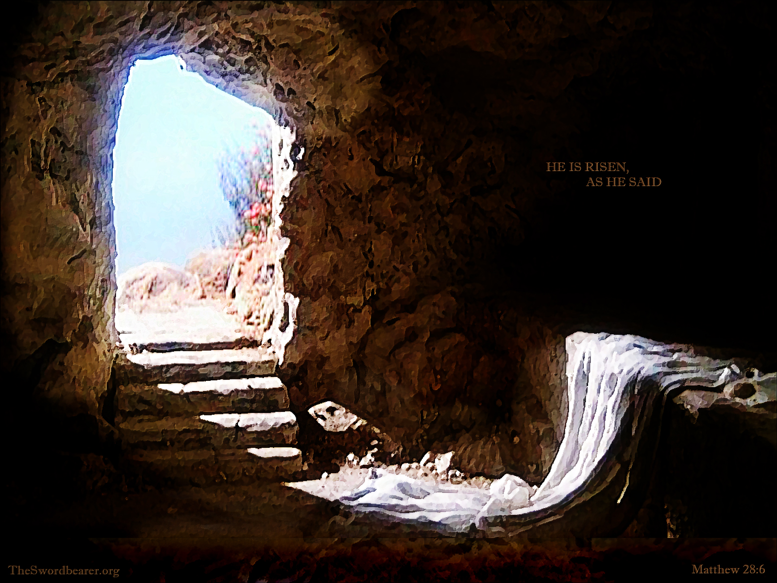 Wallpapers The empty tomb TheSwordbearer 1600x1200