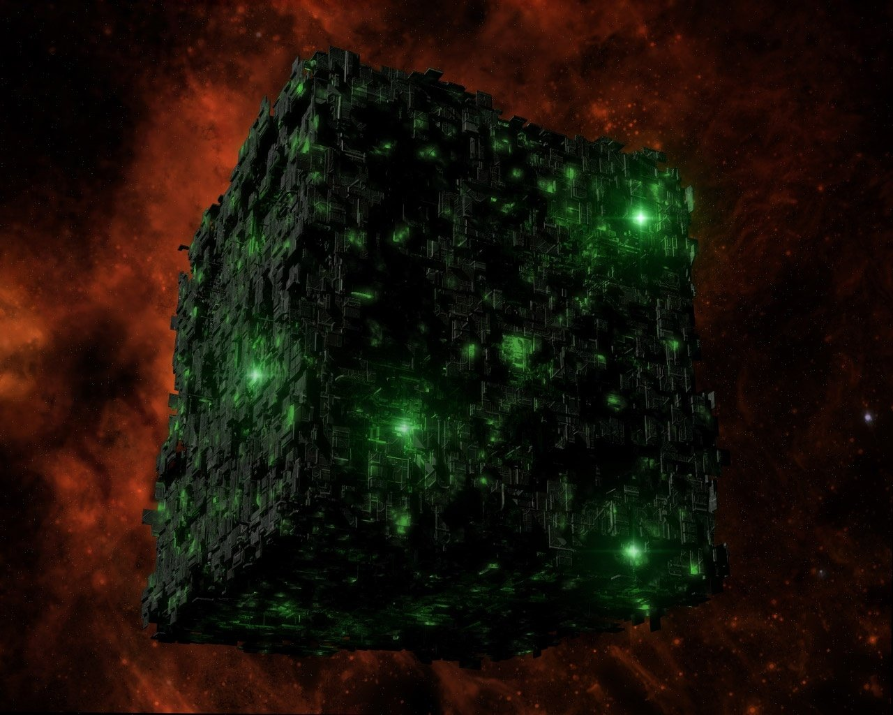 Borg Cube Wallpaper and Background Image 1280x1024 ID126455 1280x1024