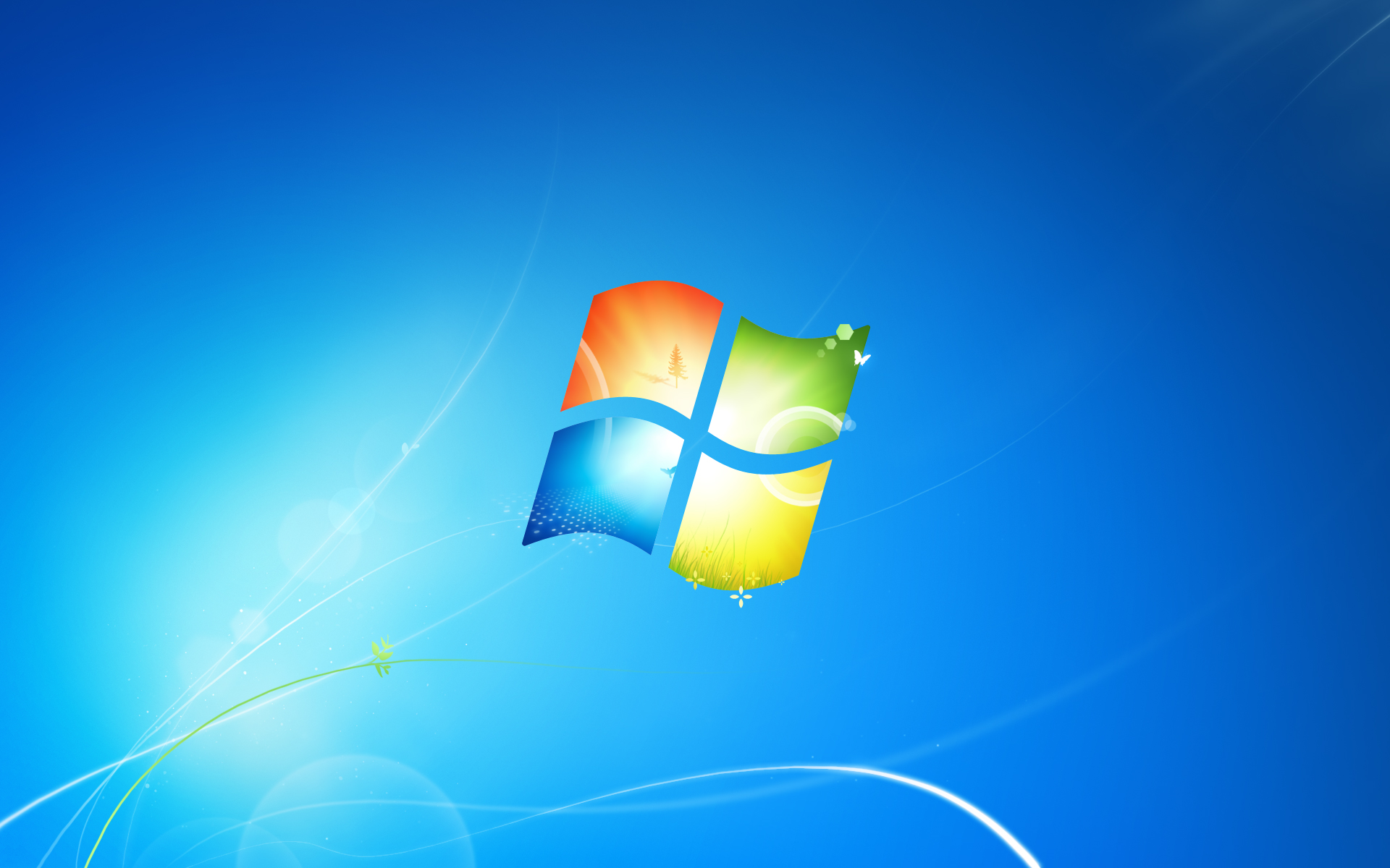 Windows 7 build 7232 leaks with new wallpaper 1920x1200