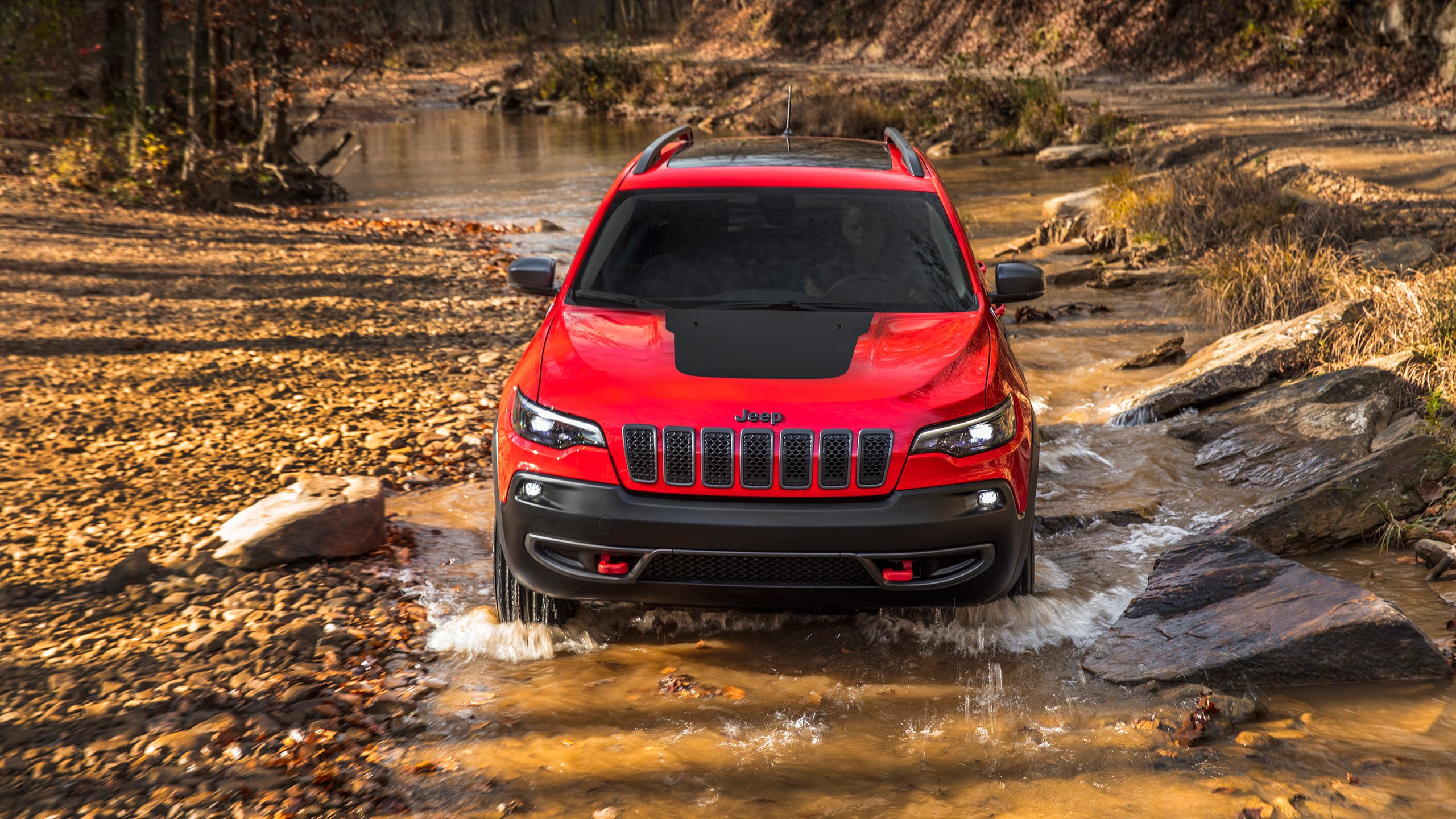 2019 Jeep Cherokee Trailhawk 3 Wallpaper HD Car Wallpapers ID 2560x1440