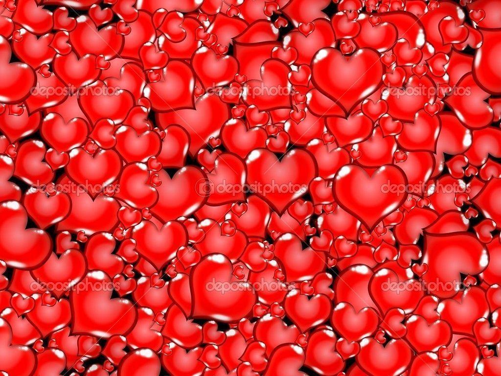 Red love heart background wallpapersafari - Heart to heart wallpaper ...