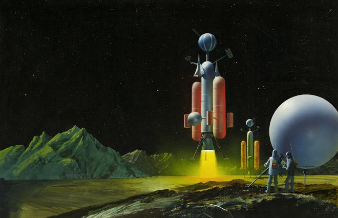 retro sci fi wallpaper   wallpapersafari