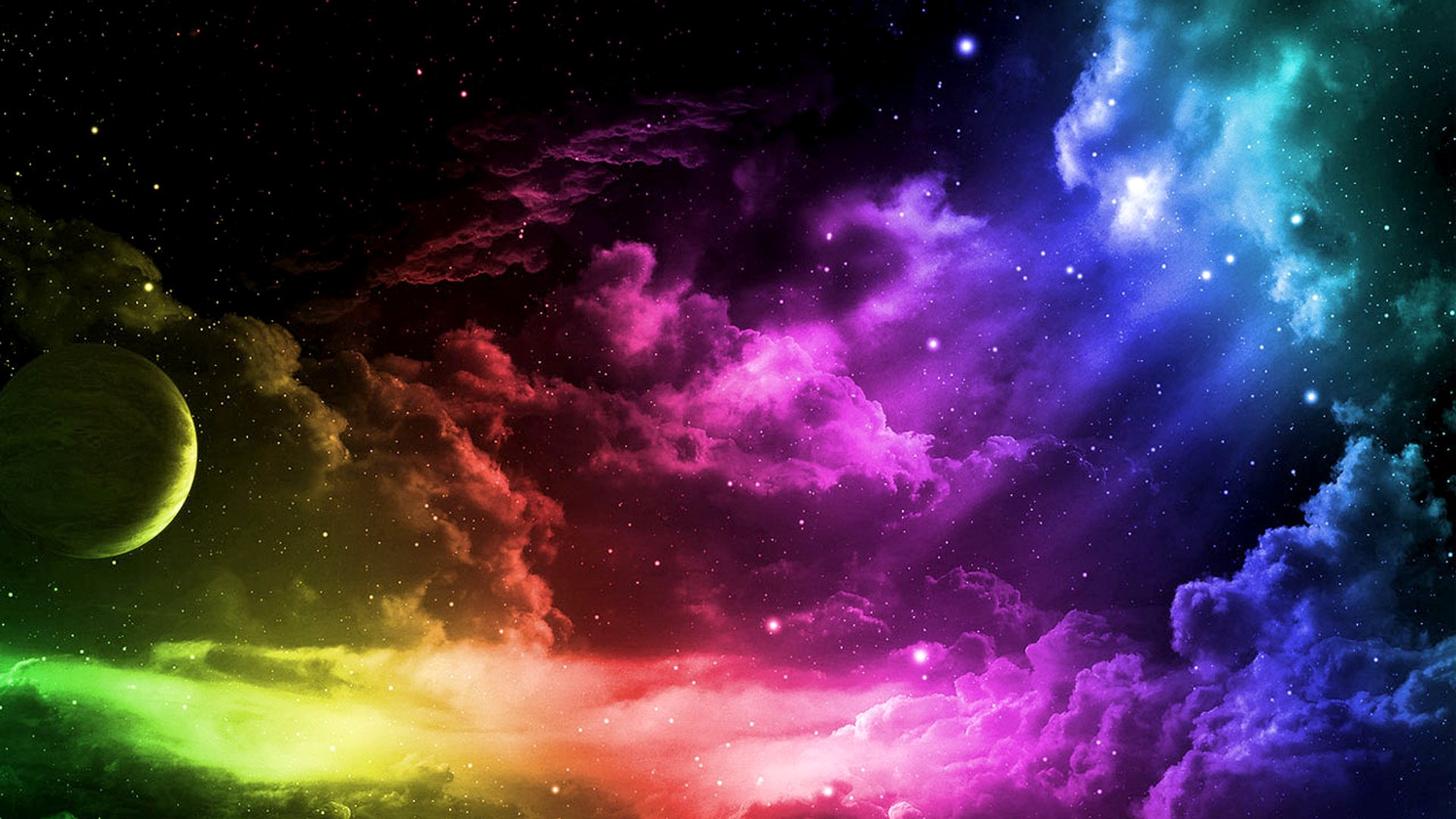 Photo of Colorful Sky Desktop Background 1920x1080