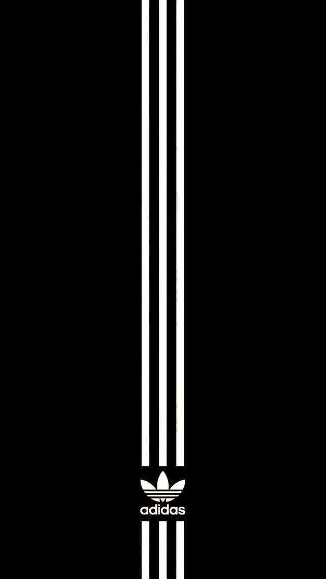 Free Download Adidas Black Wallpaper Android Iphone