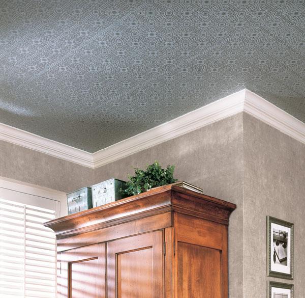 Wallpaper Ceiling Paintable Tile