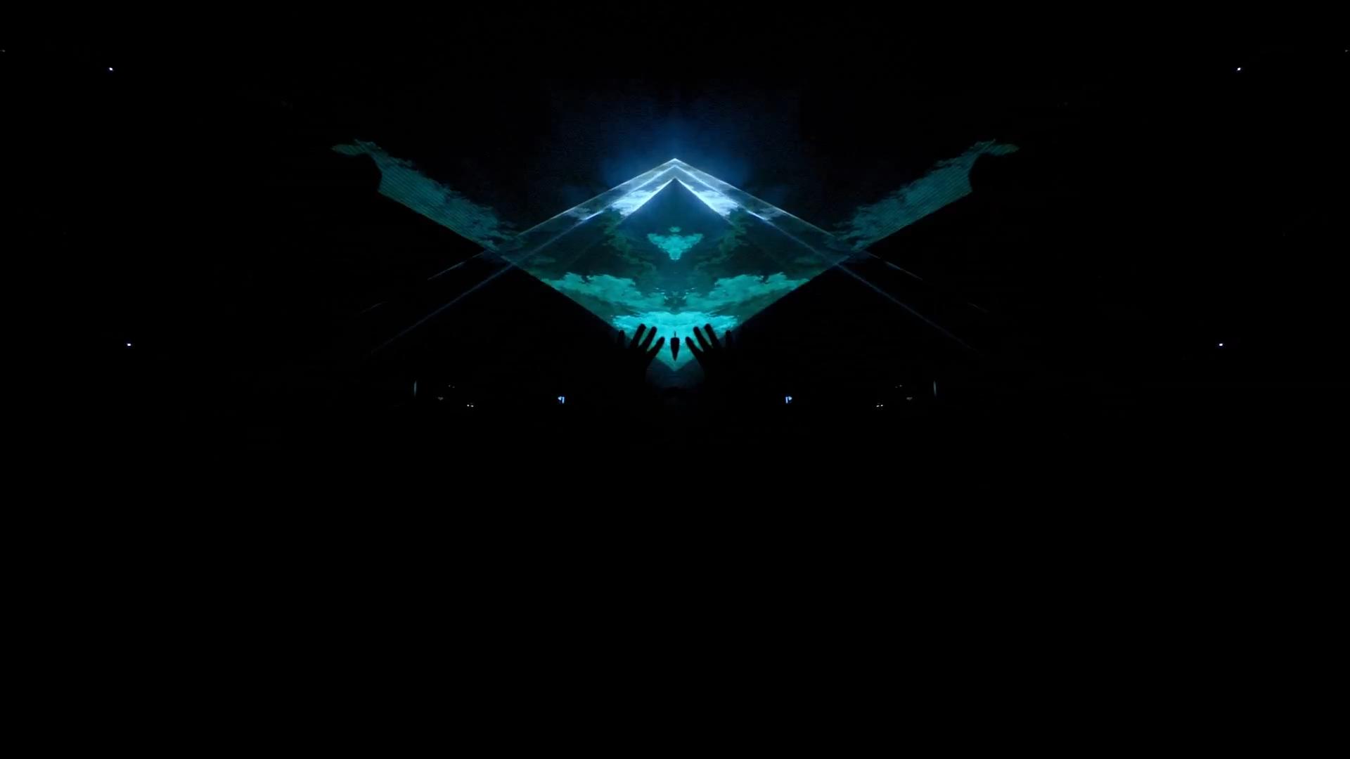 Illuminati Eye Art Design