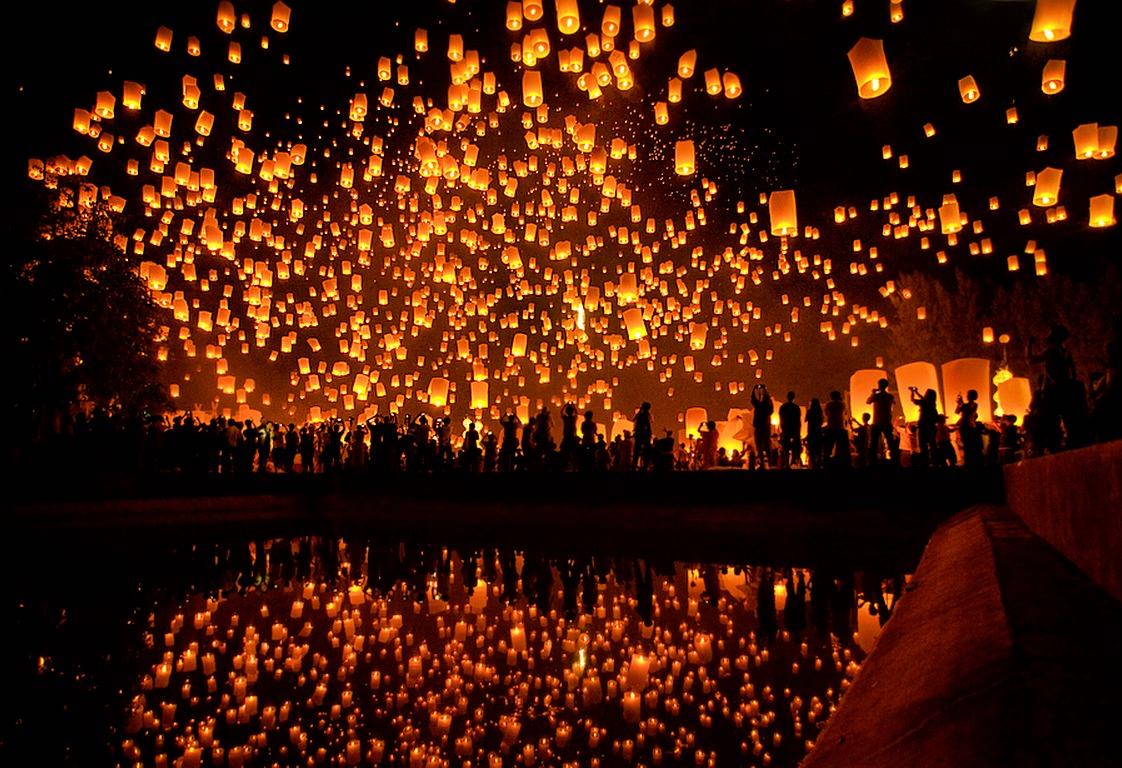 Yi Peng Lantern Festival Domestic Sanity 1122x768