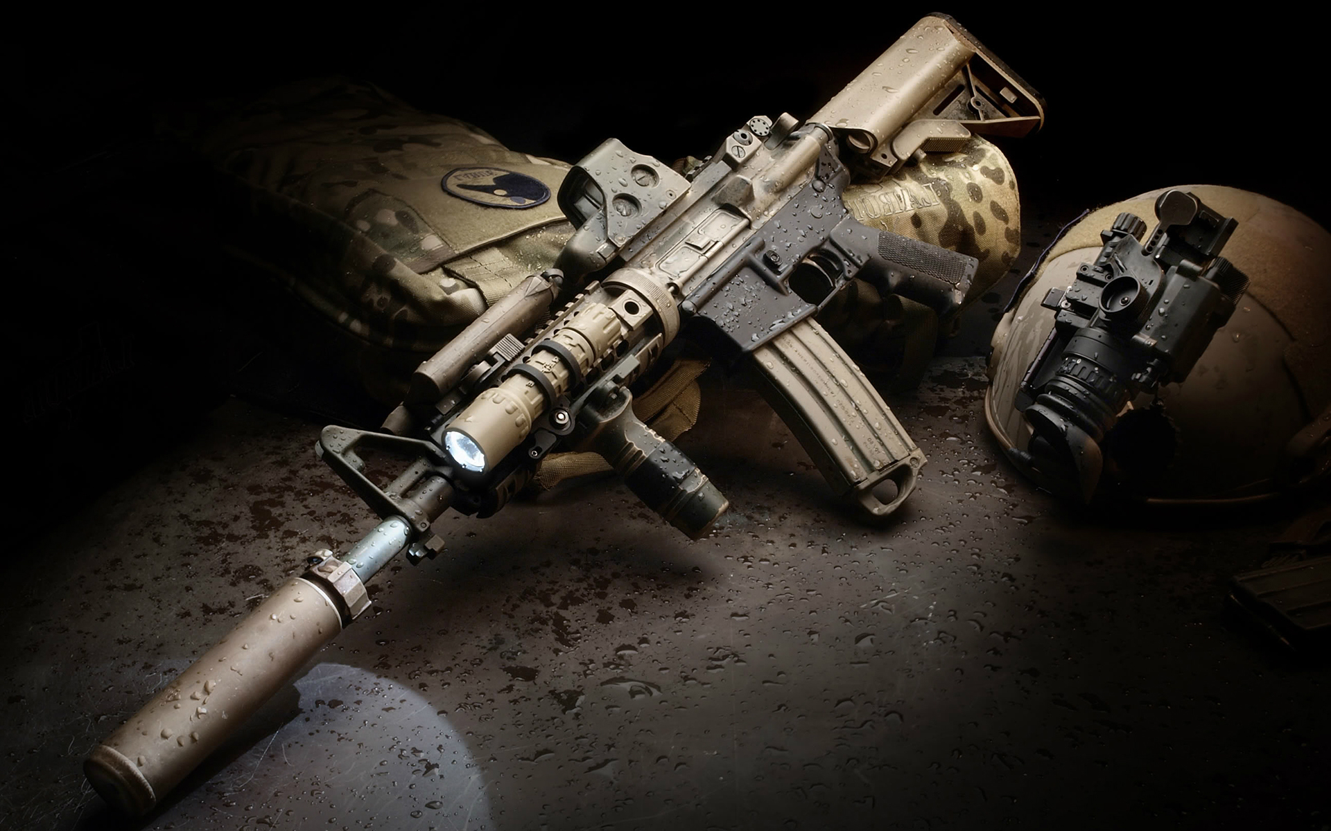 Assault Rifle Wallpapers - WallpaperSafari