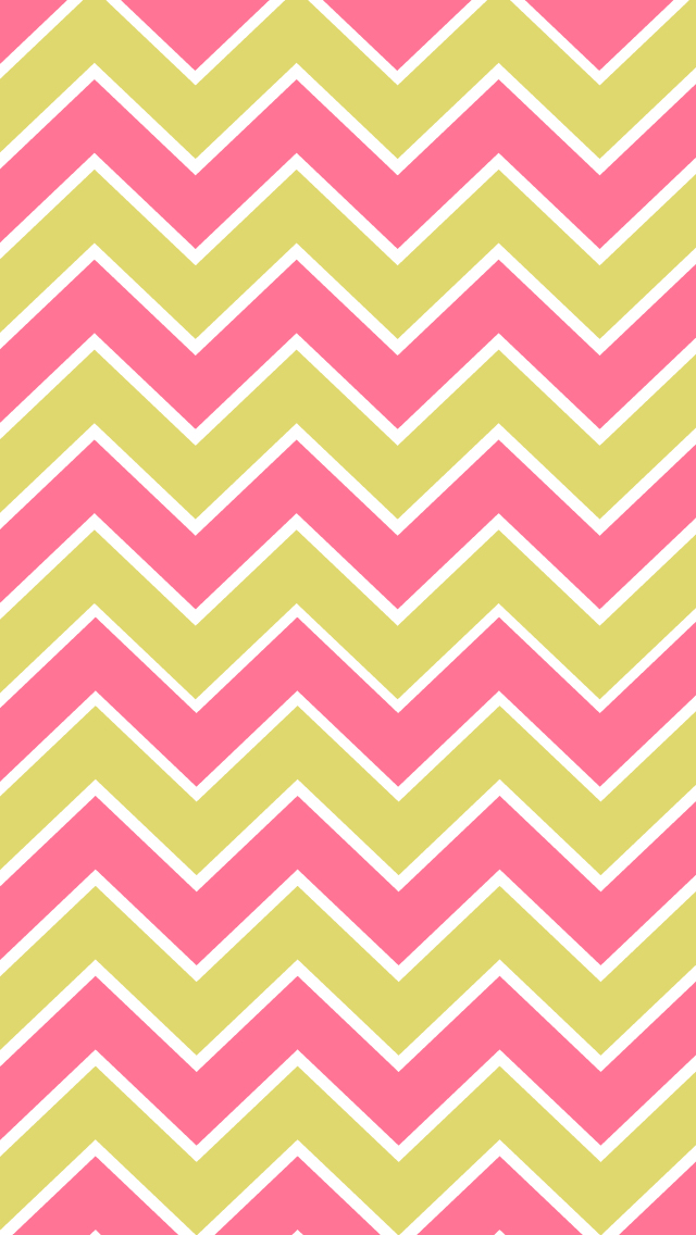 BackgroundsWallpapers ChevronPink Lime Gray Yellow Gray Orange 640x1136