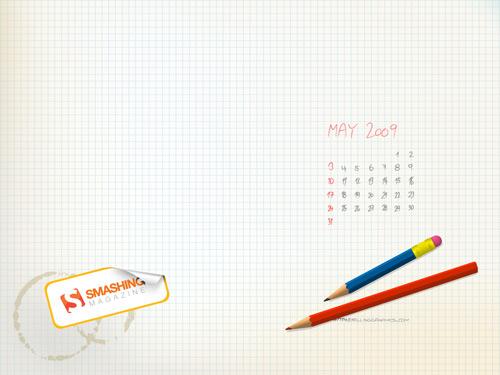 May calendar for Smashing Magazine   SellingGraphics 500x375