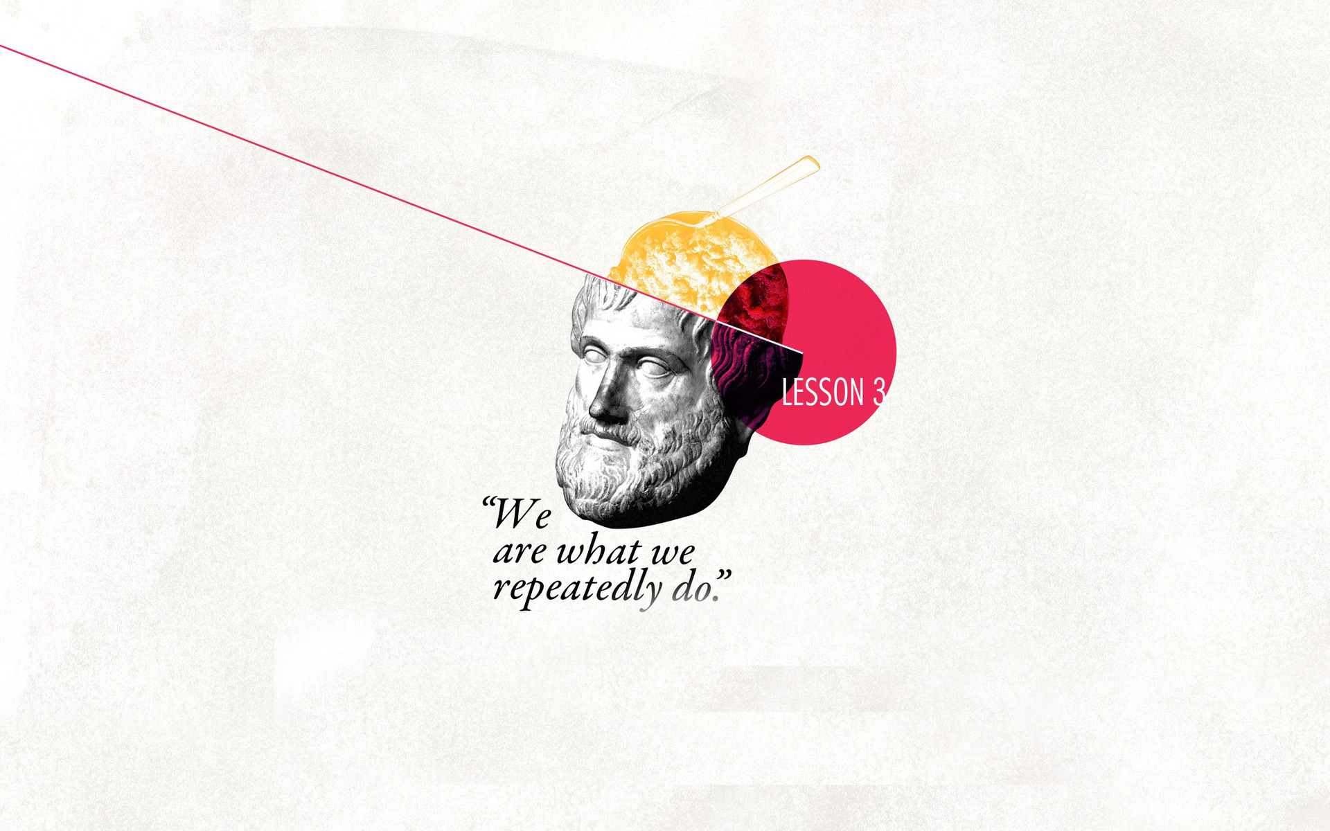 Philosophical quote Wallpaper 8144 1920x1200