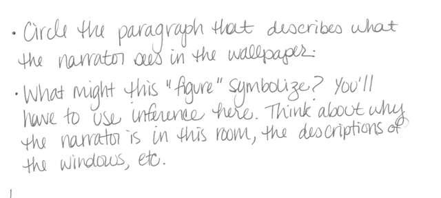 The Yellow Wallpaper Introduction Paragraph Wallpapersafari
