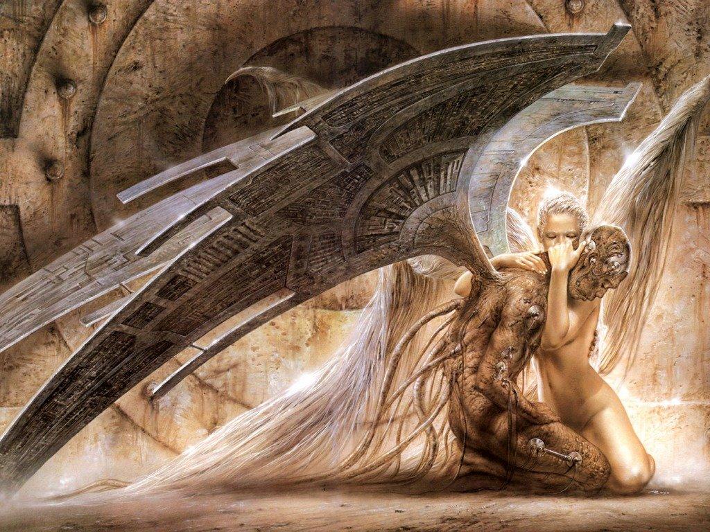 Angel Wallpapers Metal Luis Royo Heavy Metal wallpapers pictures 1024x768