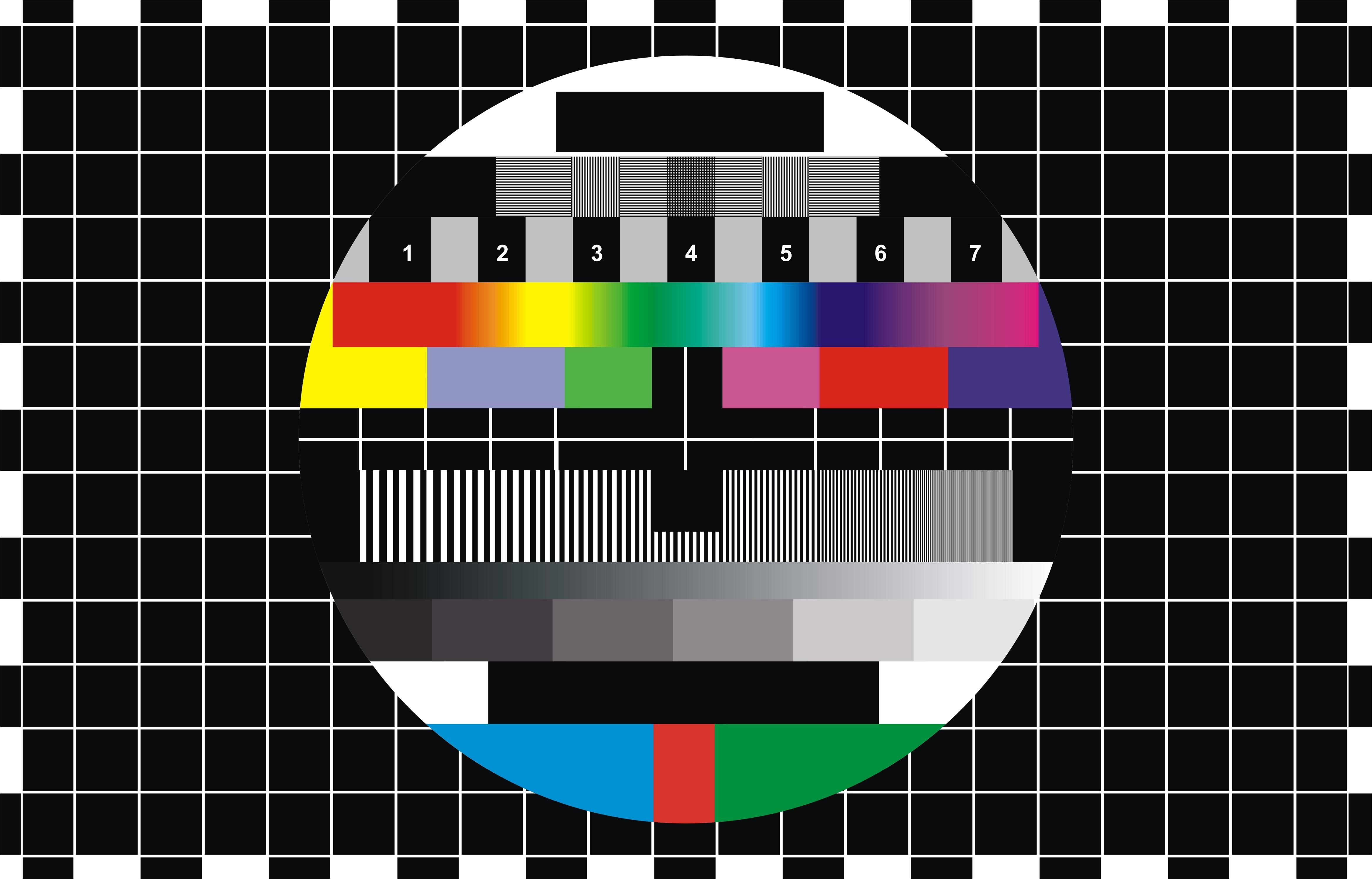 Wallpaper tv screen table colors colors rainbow screen tv 4673x2994