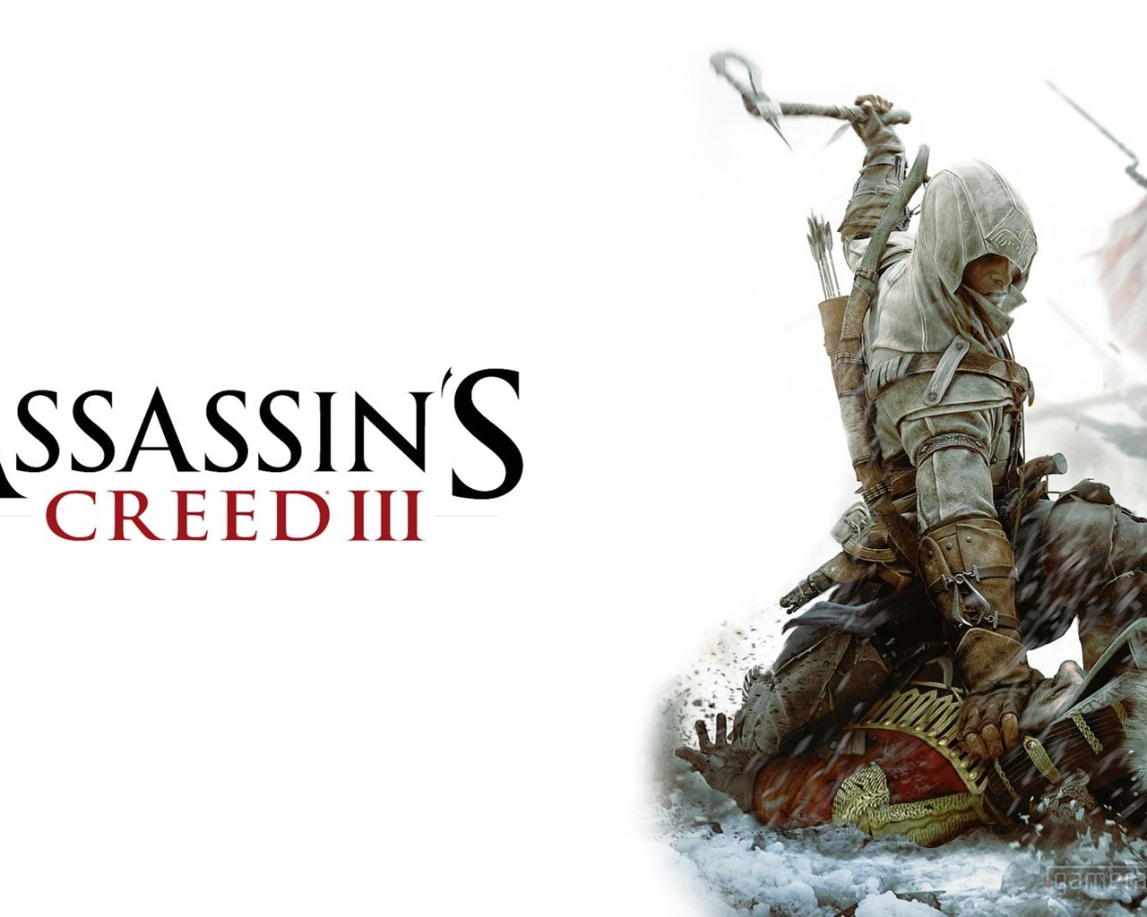 Assassins Creed 3 Game HD Wallpaper 06 Current Size 1280 x 1024 1280x1024