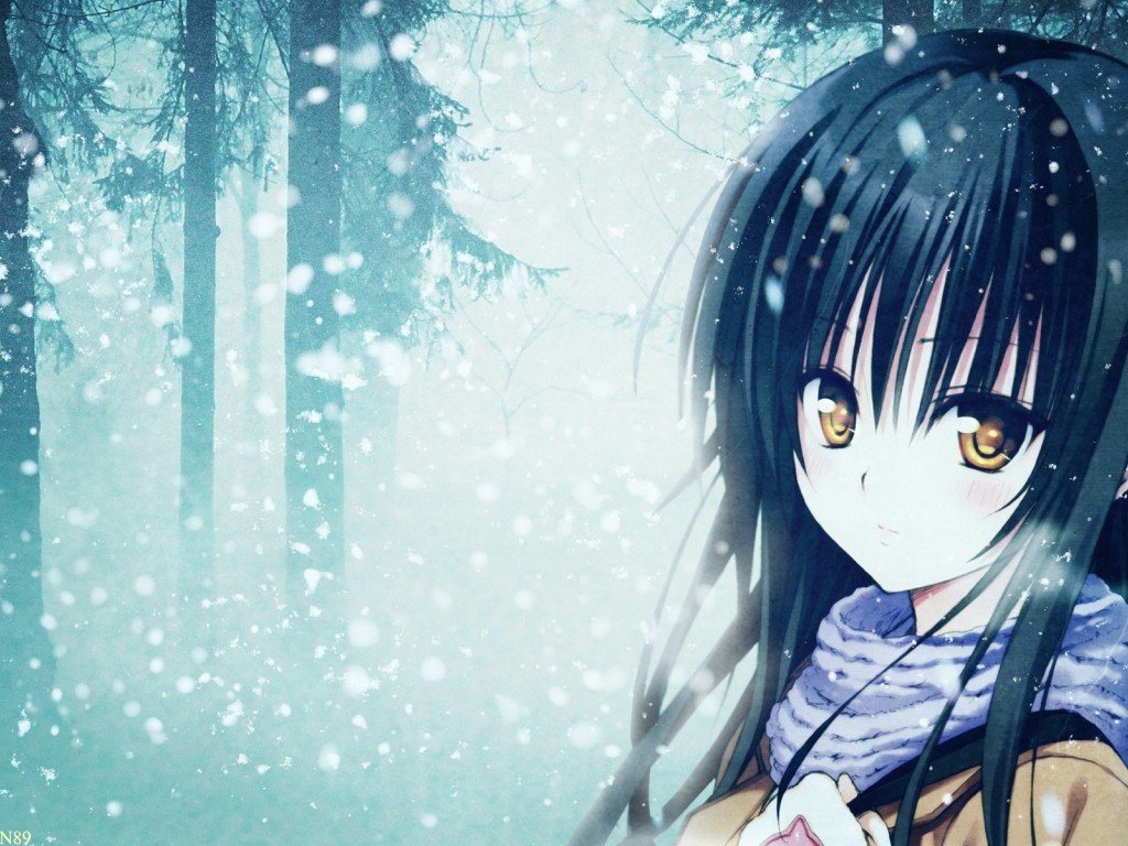 beautiful anime girl wallpaper