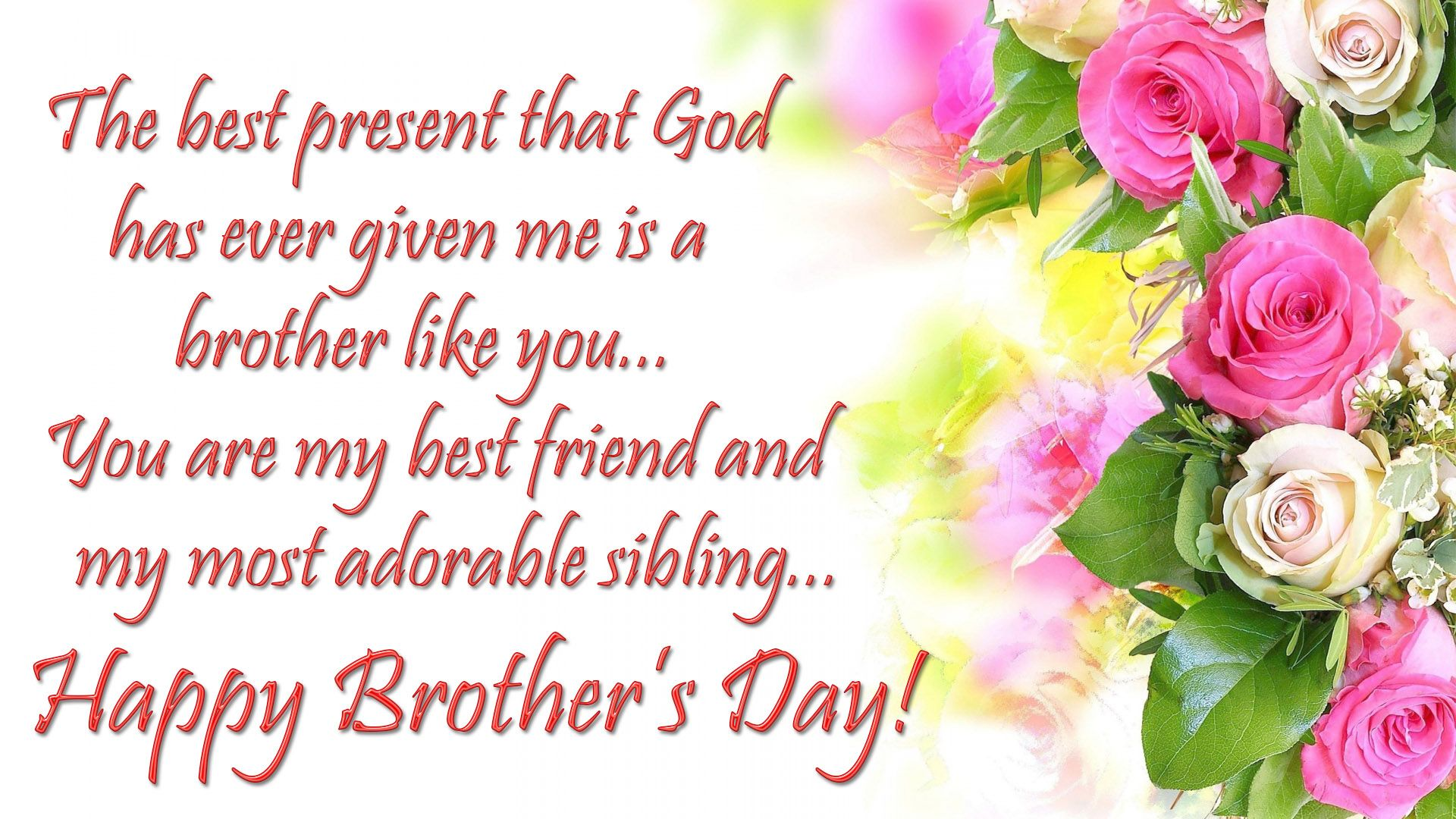 Happy Brothers Day Wishes Messages Images With images Happy 1920x1080