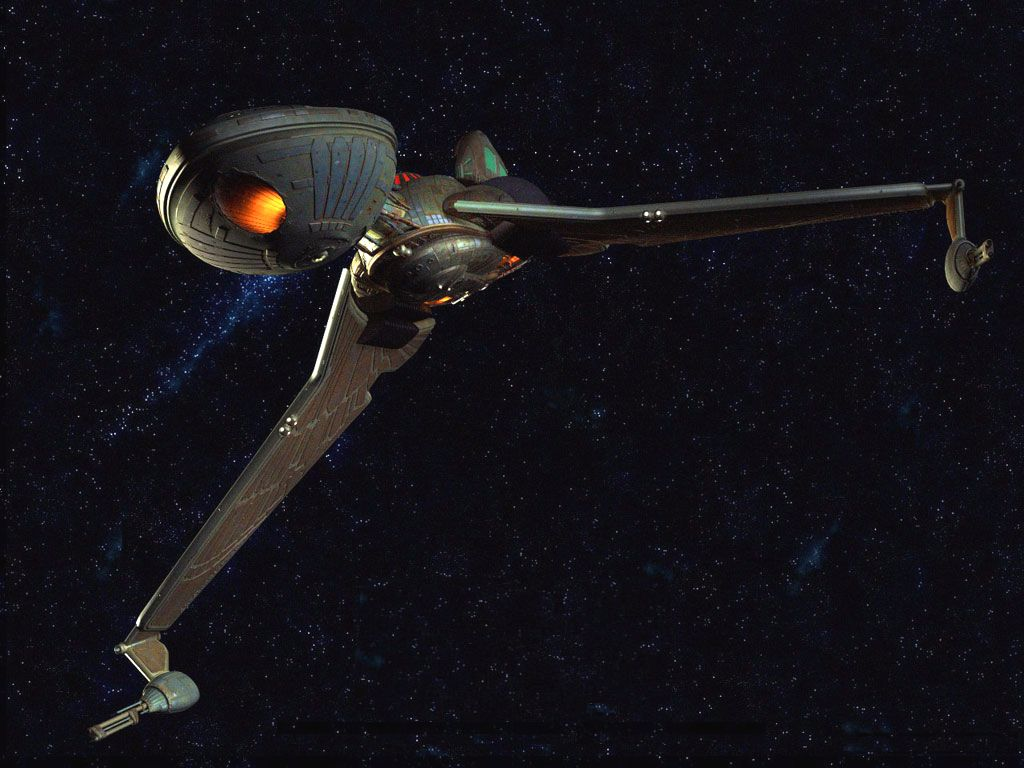 Free Download Klingon Bird Of Prey Tos 1024x768 For Your Desktop