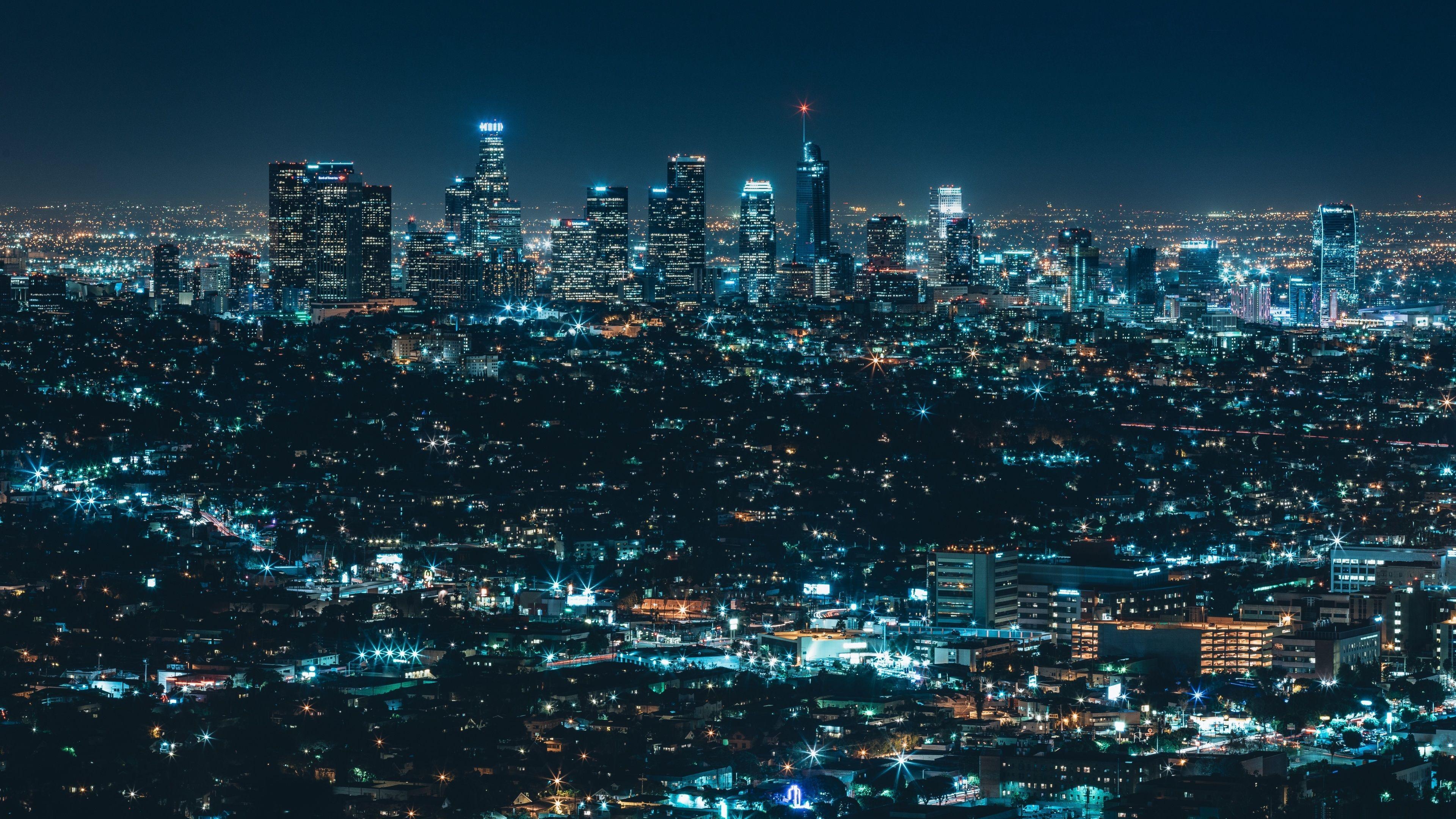 Download Urban Night 4K HD Original Wallpaper With images 4k 3840x2160