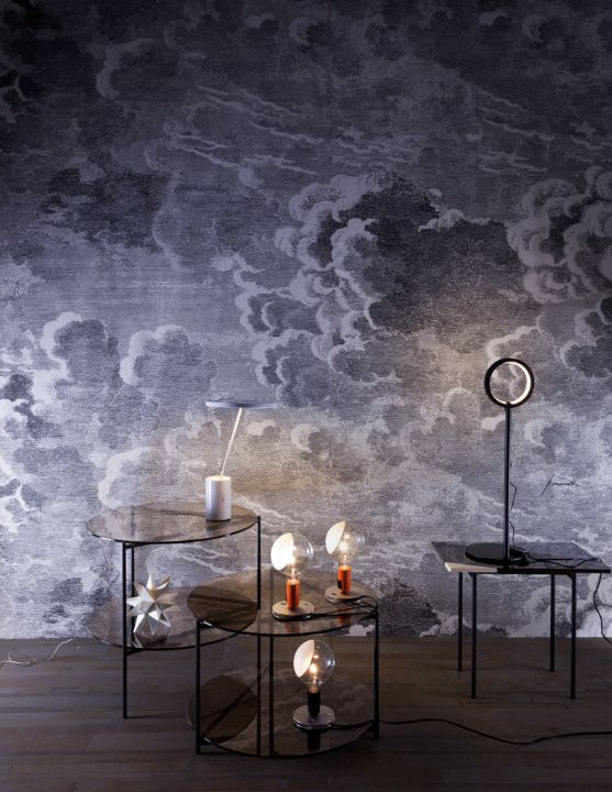 48 Fornasetti Clouds Wallpaper On Wallpapersafari