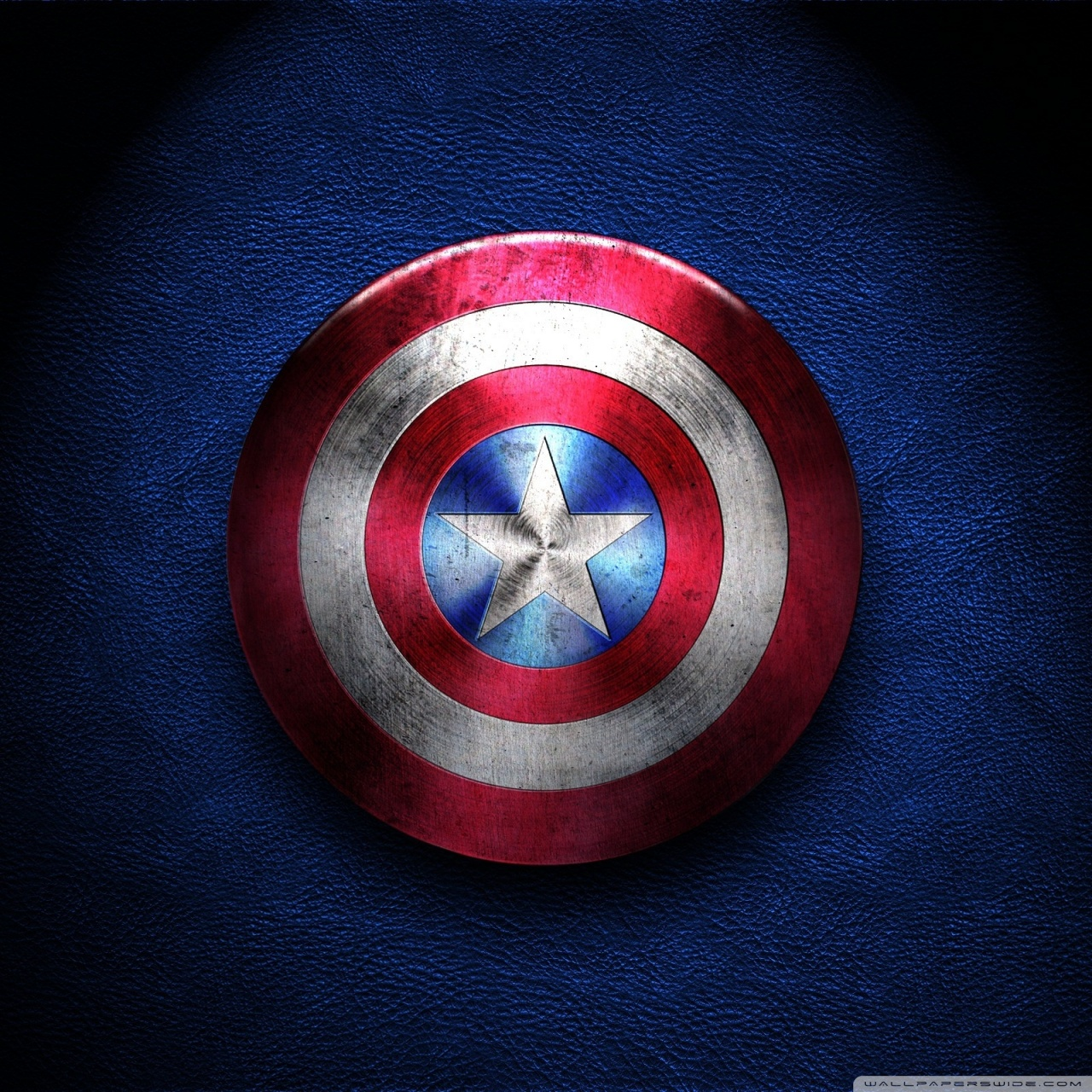Captain America Shield 4K HD Desktop Wallpaper for 4K Ultra HD 1280x1280