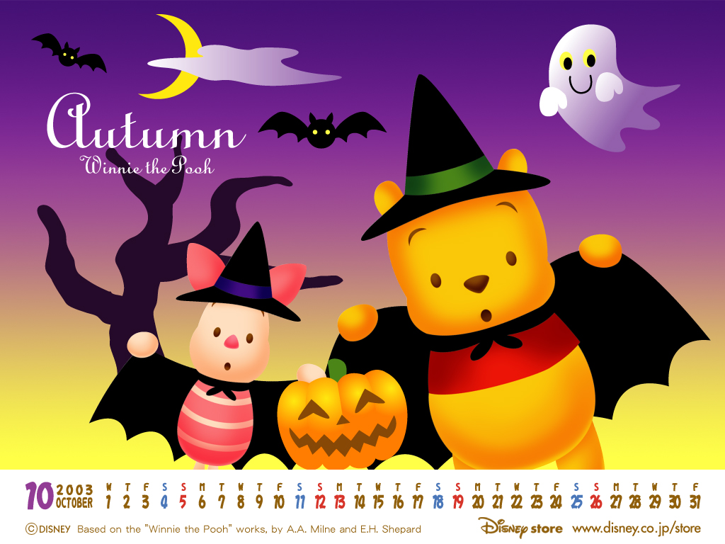 Dianey Halloween Wallpapers 1024x768 NO.1 Desktop Wallpaper - Wallcoo ...