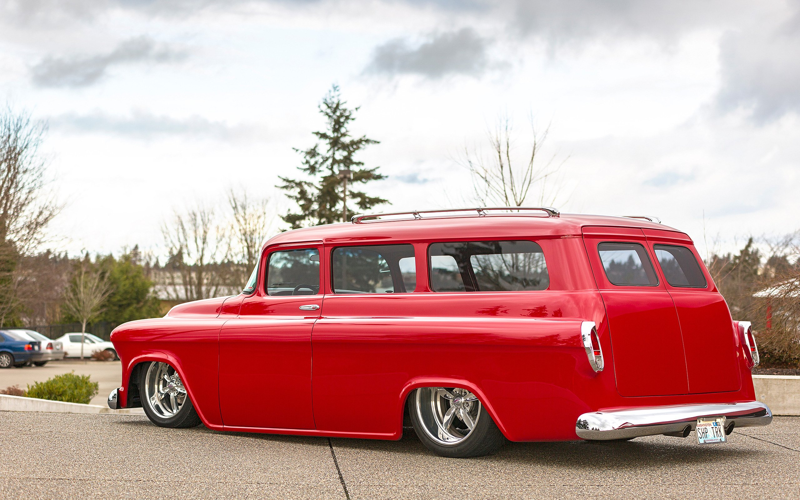 Your 1955 Chevy Suburban Wallpapers Are Here 2560x1600