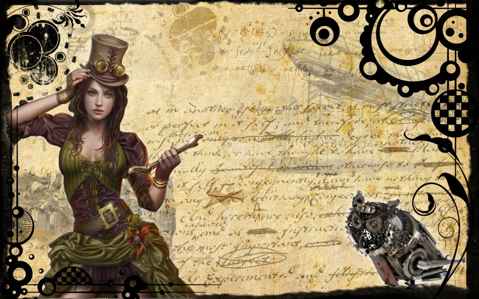 Miscellaneous Steampunk 1 desktop wallpaper nr 59257 by mc00078 1680x1050