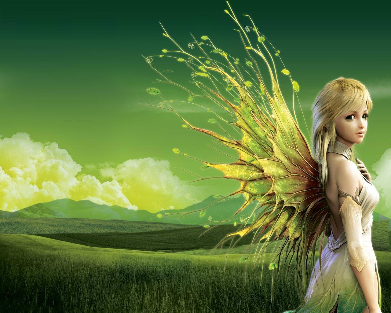 Fantasy   Fairy Wallpaper 1280x1024