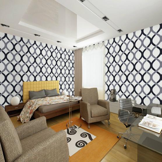 Swirl geometric wallpaper modern pvc roll background wall wallpaper 556x556