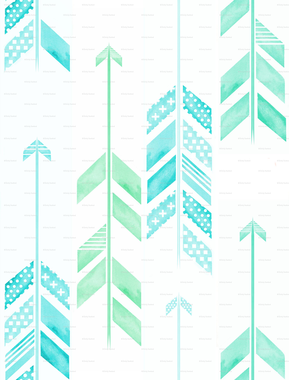 Arrow Pattern Wallpaper Wallpapersafari