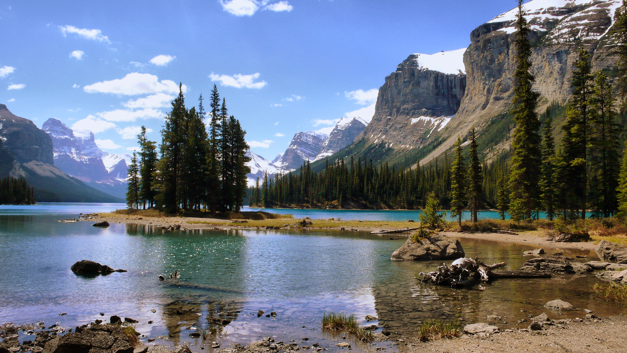 paysage lac montagne fort le Wallpaper   ForWallpapercom 2560x1440