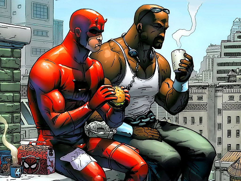 Daredevil Marvel Wallpaper 1024x768 Daredevil Marvel Comics Luke 1024x768