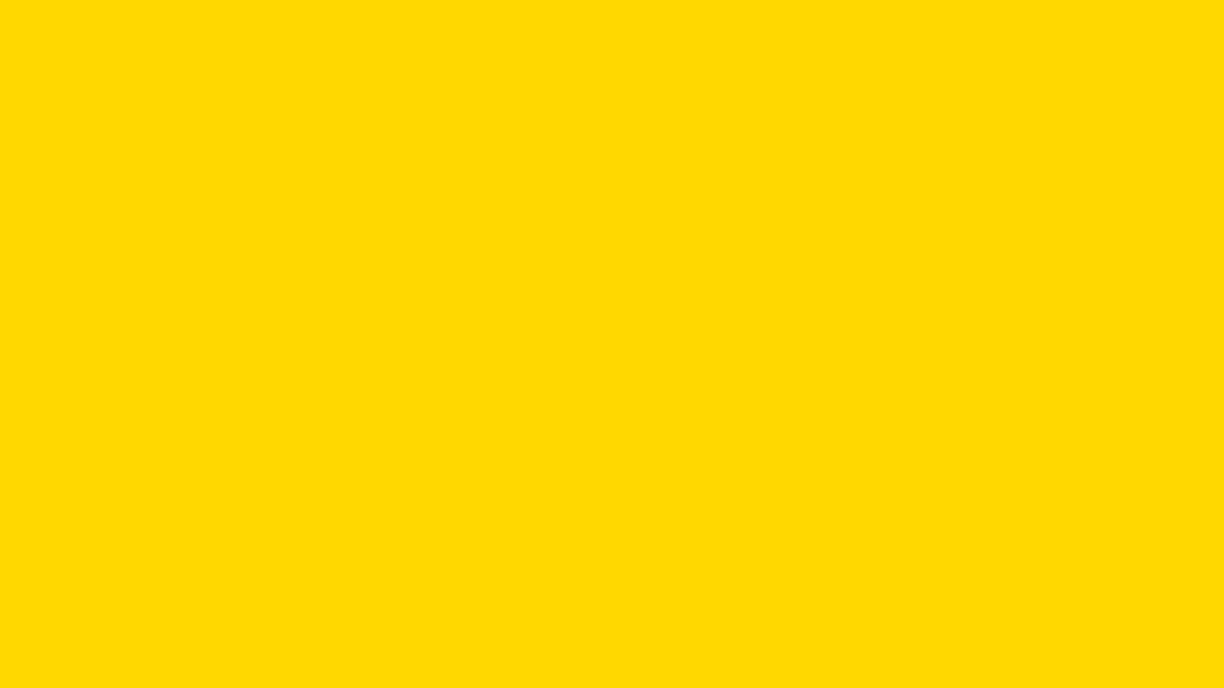 1366x768 resolution School Bus Yellow solid color background 1366x768